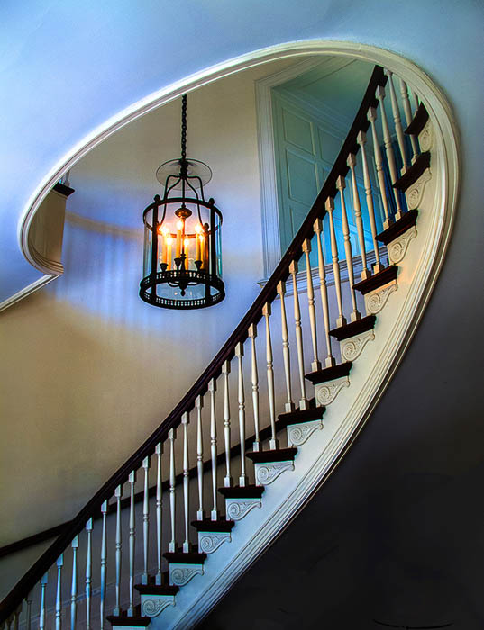 """Lamp and Stairs"" by Erik Kissa"